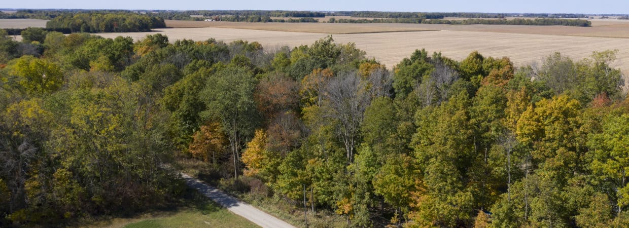 Beautiful 1.8 acre wooded lot in Thorntown, IN