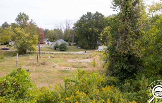 Large building lot with multiple utility hookups!