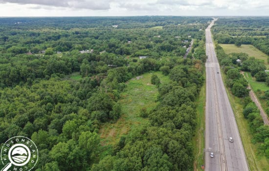 Nearly 10 acres in South Bend with great development potential!